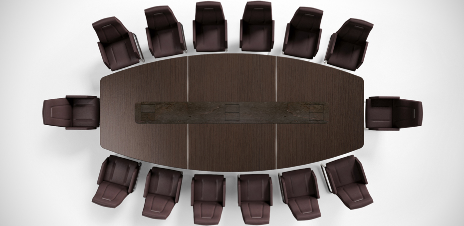 Meeting Design Table Alfaomega By Codutti Italy