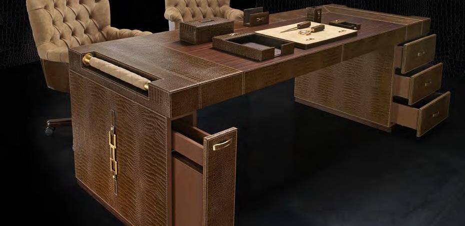 luxury executive desk wall street by formitalia