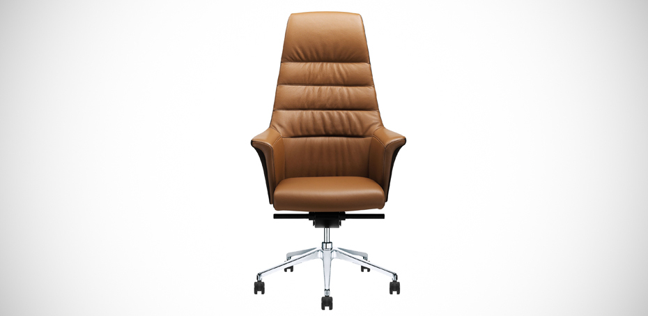 of course executive office leather chair by sitland