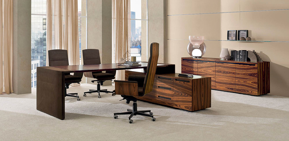 Crossing classic desk by i4mariani designer luca scacchetti for Design office xing