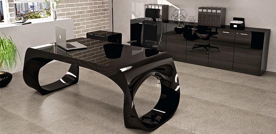 Modern Office Desk Infinity By Babini Design Edoardo Cappelluti
