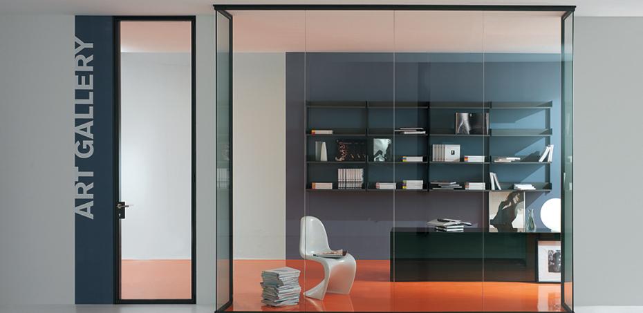 Luconi Design Interior Glass Doors Officefurnitureitaly