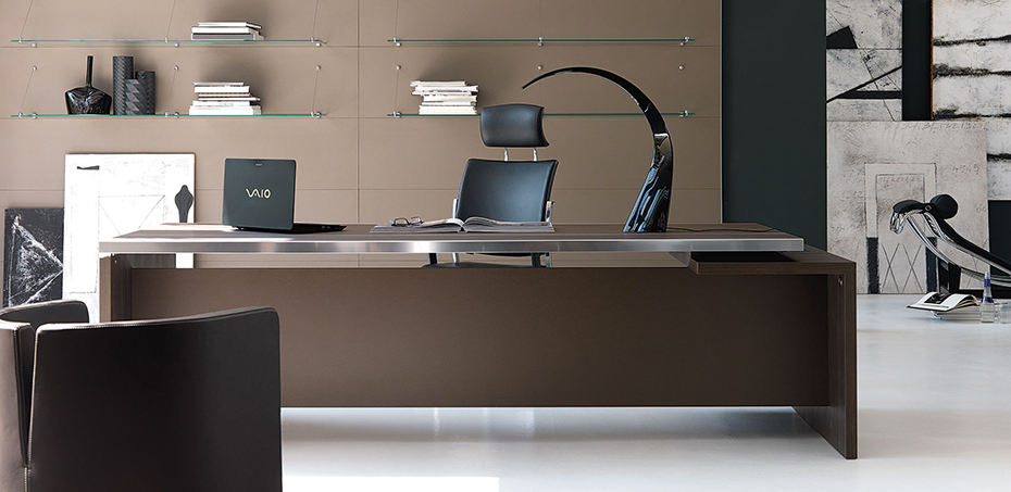 Modern Italian Executive Office Desks Athos By Ivm