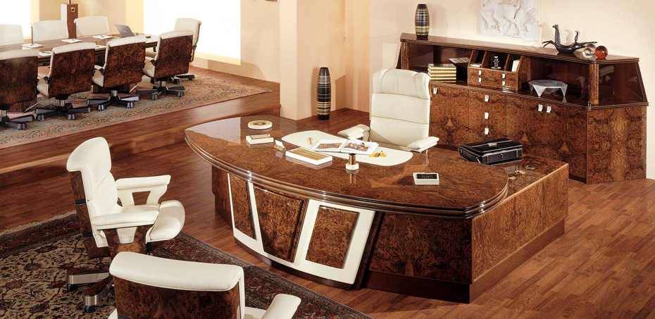 Luxury Office Design. Luxury Italian Desk Office Design