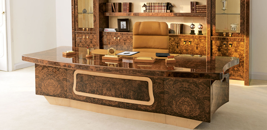 Italian Luxury Executive And Presidential Office Desks Venus