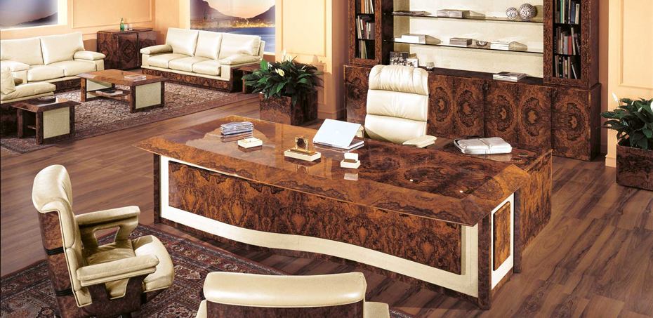 Luxury Italian Executive Office Table Privilege