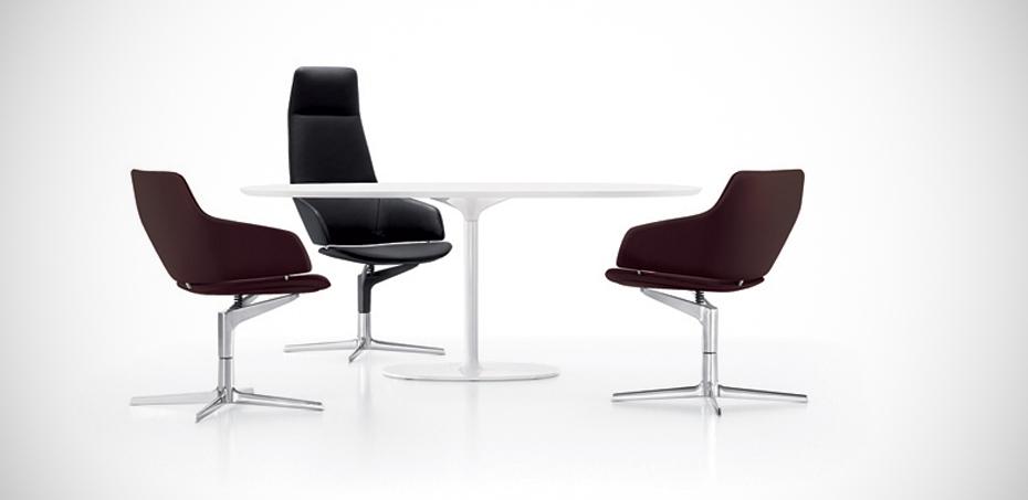 Aston Meeting Chair By Arper Design Jean Marie Massaud