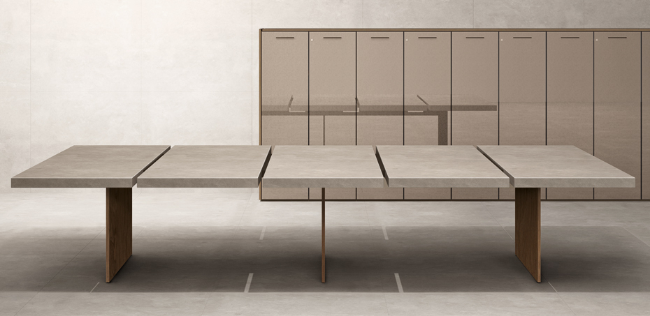 Home Office Sets Office Furniture Elements: Meeting Table The Element By Uffix, Design Driusso Associati