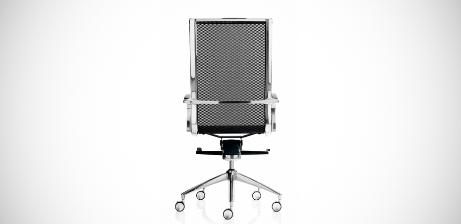 Em202 Italian Design Mesh Office Armchair By Emmegi