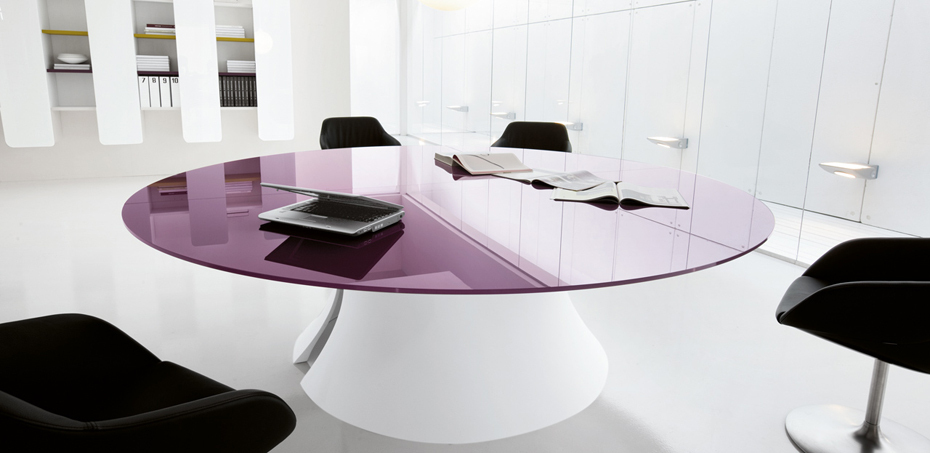 Meeting Design Table Ola by Martex, Designer Mario Mazzer