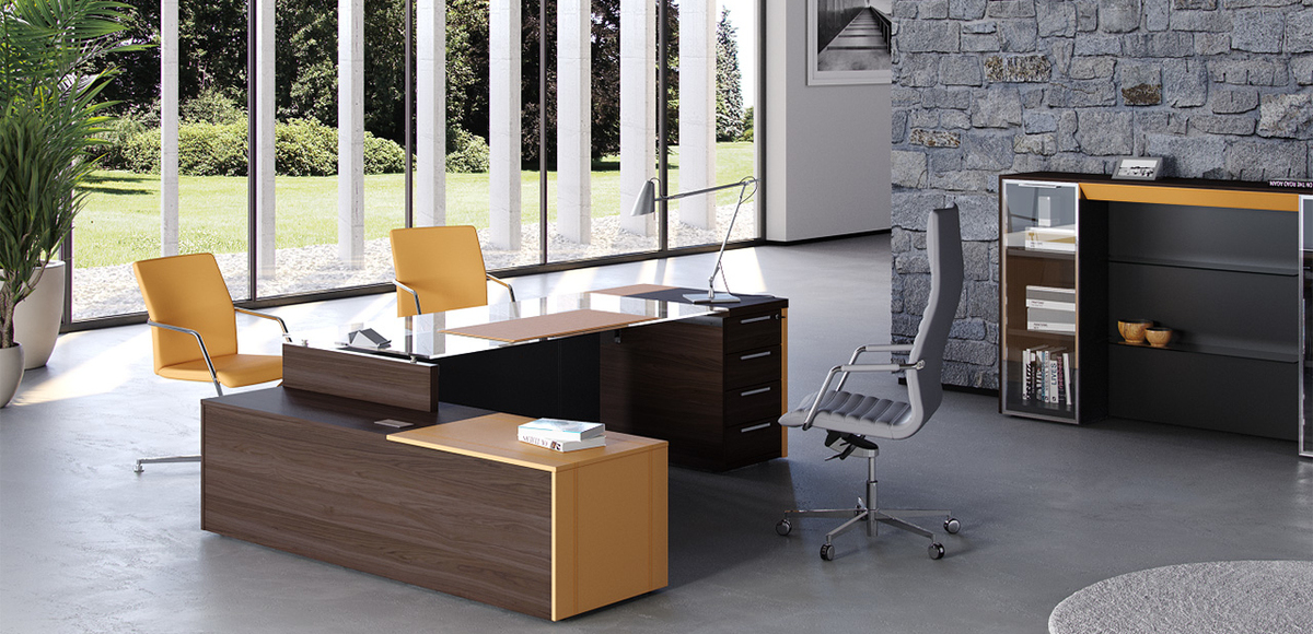 Executive Italian Office Desk One By, Best Executive Desk Brands
