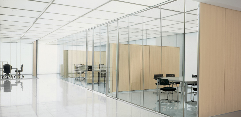 Vision Glass Partition Walls By Citterio