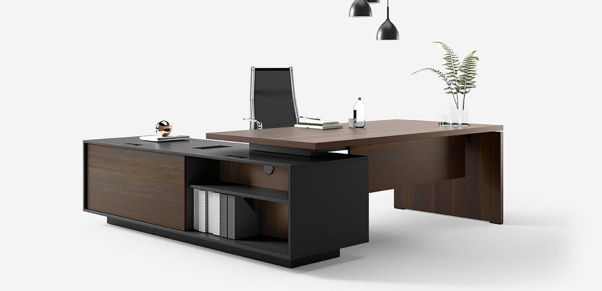 Office Desk Report By Sinetica L Shape