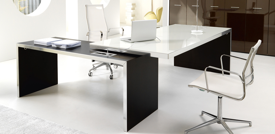 executive design desk wing by ivm office