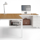 x8 desk L shape