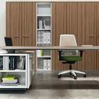 executive desk L shape