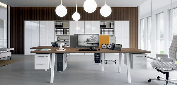 E-Place Della Valentina Workstation Desk