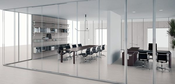 wall partition Vision Citterio