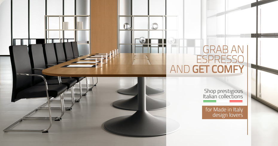 Italian Meeting Chairs Italian Office Furniture Italian Conference Tables  ...